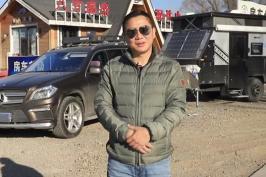 房车升级后车主这么玩:自己到西藏无外接水电住了7天,舒服省心